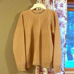 ASOS slouchy blush pink sweater, size 4